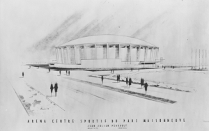 aréna croquis 1958